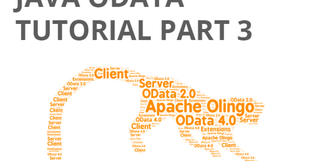 Java Odata Tutorial part 3