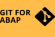 How to install GIT for ABAP and configure with GitHub